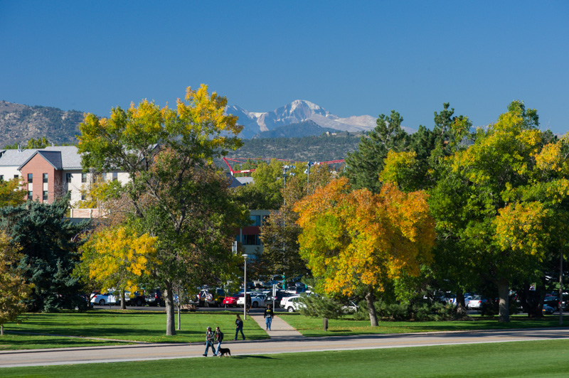 Colorado State University in the fall