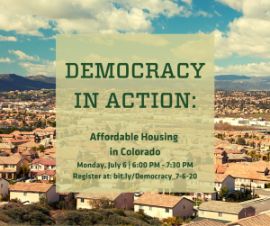 Democracy in Action: Affordable Housing in Colorado